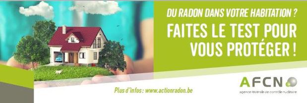 Environ 10% des cancers du poumon en Belgique sont liés au gaz radon, rappelle l'AFCN