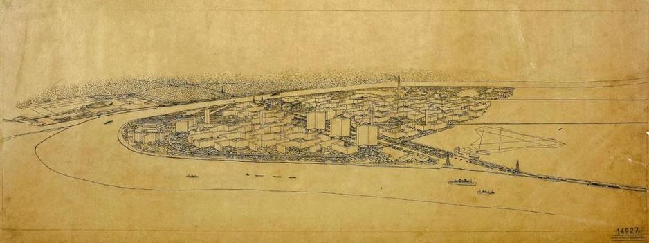 Hoe Le Corbusier van Antwerpse Linkeroever een ideaalstad wou maken