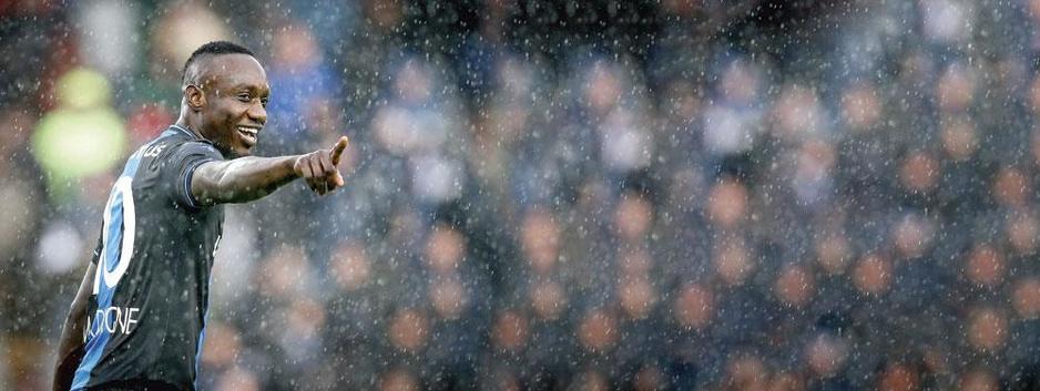 De zwerftocht van Club Brugge-spits Mbaye Diagne