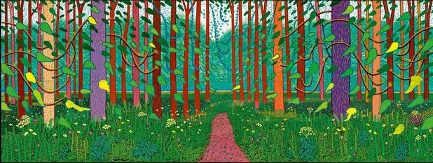 Hockney - Van Gogh Tot 26 mei