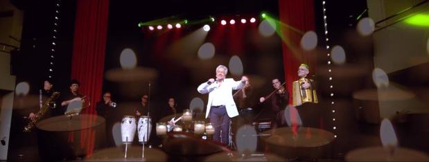 Frank Valentino concerteert in Kusttheater Colisée in Blankenberge