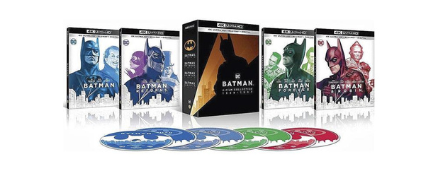 Batman Collection 4 films 1987-1997 *