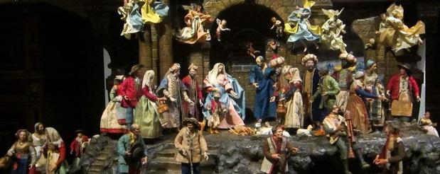 Museum Plantin-Moretus in kerstsfeer