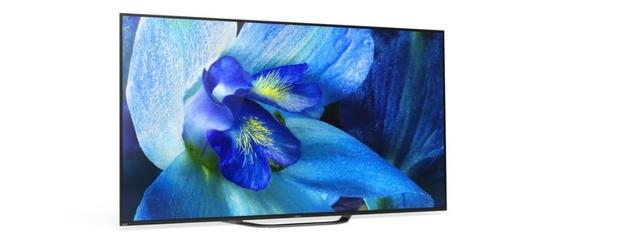 Sony 4K Ultra HD tv's met OLED-scherm