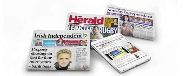 Mediahuis slaat slag bij Ierse krantenuitgever