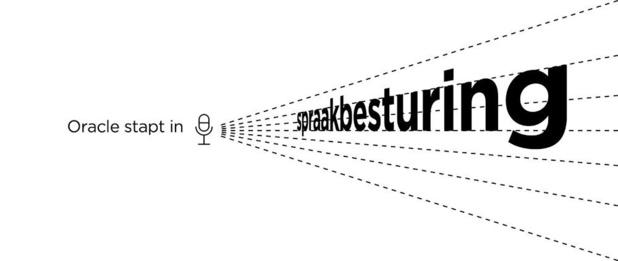Oracle stapt in spraakbesturing