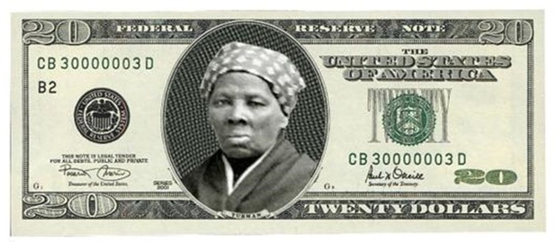 Zwarte abolitioniste Harriet Tubman binnenkort op briefje van 20 dollar