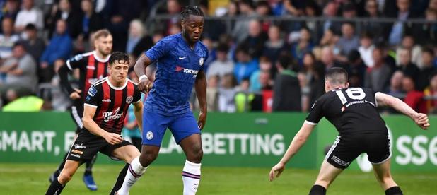 Batshuayi buteur pour la première de Frank Lampard sur le banc de Chelsea (vidéo)