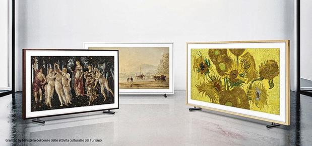 Televisie en kunstwerk in één