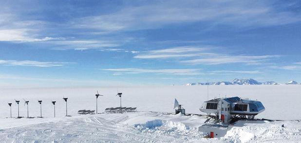 L'Antarctique, plus blanc que blanc