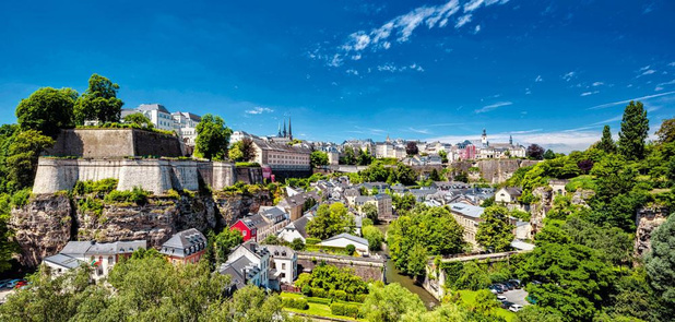 Op zoek naar de troeven van Luxemburg stad