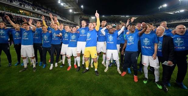 Genk est champion de Belgique pour la 4e fois de son histoire! (vidéo)
