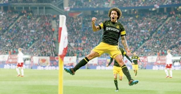 Flash-back sur la saison d'anthologie d'Axel Witsel à Dortmund