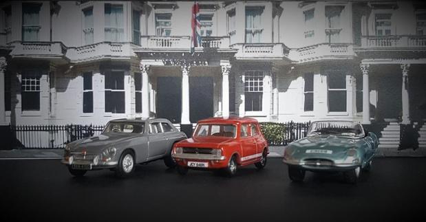 Britse kerst in Autoworld
