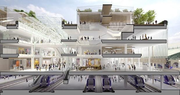 """Qualifié de """"pharaonique"""", le projet de la nouvelle Gare du Nord à Paris ne voit pas le bout du tunnel"""