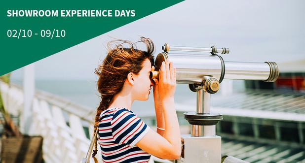 Showroom experience day: zien, ontdekken en weten