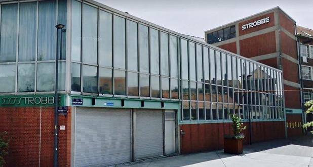 Les anciens bâtiments de l'imprimerie Strobbe sujets d'un mémoire