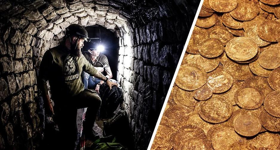 Onze journalist graaft naar 400.000 gouden munten. En hij is niet de enige...