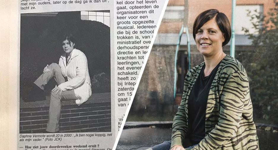 "Daphné was 20 in 2000: ""Nu kan ik vlotter relativeren"""