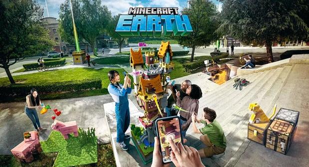 Minecraft bat le pavé