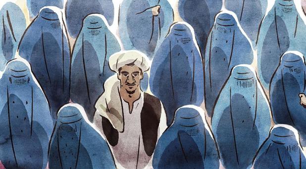 'Les hirondelles de Kaboul': aanklacht in aquarel tegen de taliban