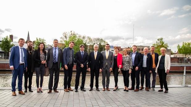 """Carles Puigdemont ontdekt Kortrijk: """"Ons doel is een land van vrede en respect"""""""