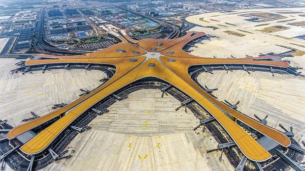 Un aéroport gigantesque pour Pékin