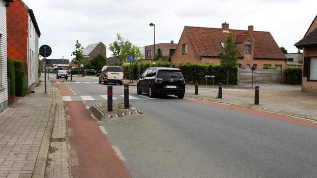 Ettelgemsestraat en Dorpsstraat in Oudenburg worden voorrangswegen