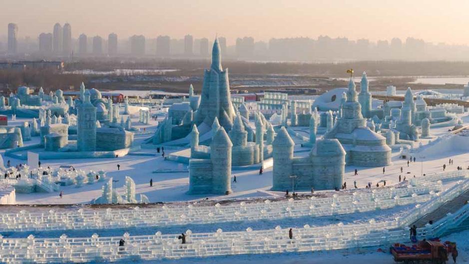 Harbin, le festival de glace (en images)