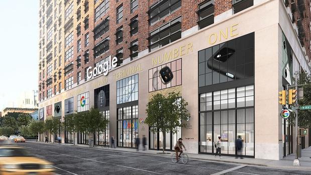 Google gaat eigen winkels openen, de eerste in New York