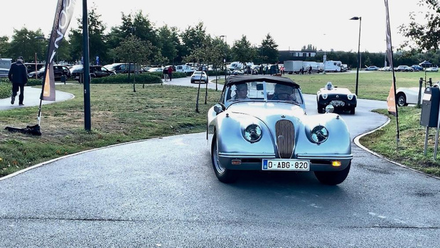 VIDEO - Exclusieve oldtimers lokken autofans naar Jabbeke