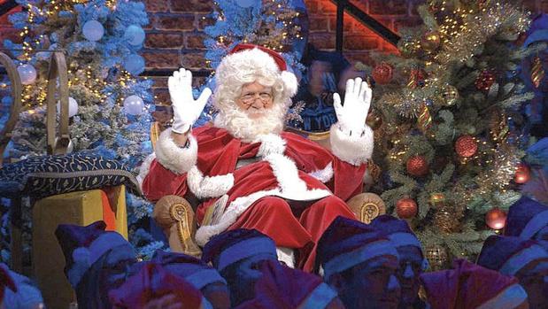 Is er een kerstman in de zaal?