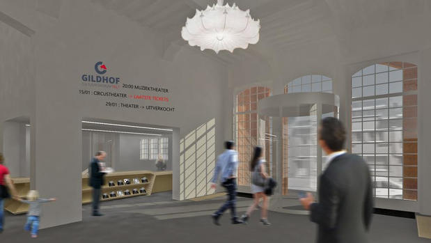 Gildhof Tielt blijft open tijdens renovatie, ook verbouwingen in technische loods gepland