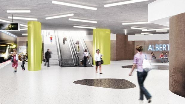 Bruxelles: la ligne 3 du métro comprendra 18 stations et s'étendra sur 10 kilomètres