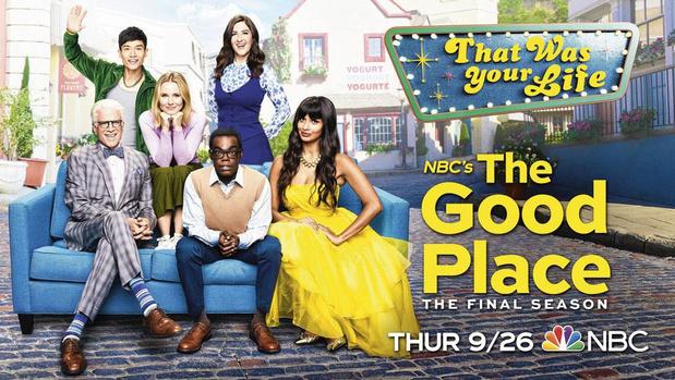 Alles wat u moet weten om seizoen 4 van 'The Good Place' te kunnen volgen