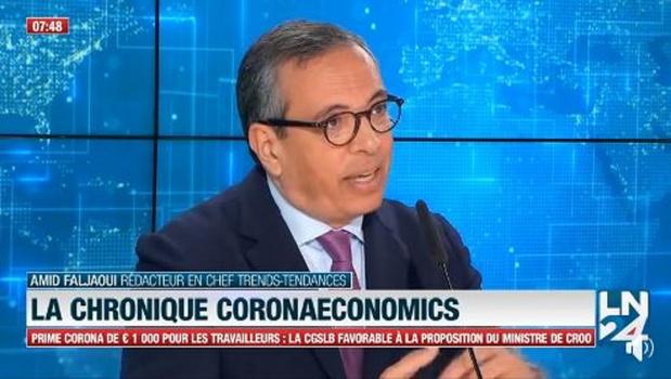 CoronaEconomics: l'analyse du jour d'Amid Faljaoui (vidéo)