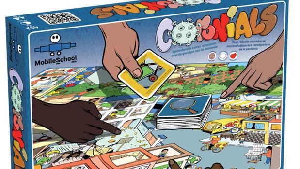Educatief bordspel 'Coronials' moedigt families aan te spreken over de corona
