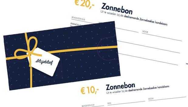 Papieren Zonnebon niet meer geldig vanaf 1 oktober