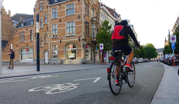 Kortrijk is trendsetter: ook Mechelen voert fietszone in