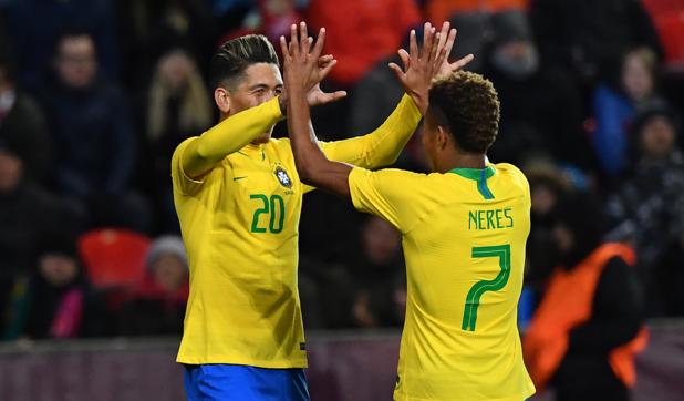 Le Brésil et l'Argentine assurent le minimum en amical