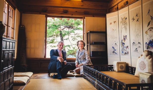 Couple royal à Séoul : visite d'un musée et dégustation de thé selon le rituel coréen