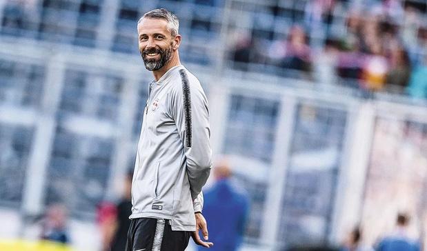Trainer Marco Rose ruilt Mönchengladbach volgend seizoen voor Dortmund