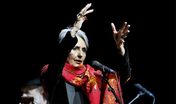 Het triomfantelijke afscheid van Joan Baez