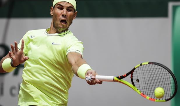 Rafael Nadal déroule au premier tour