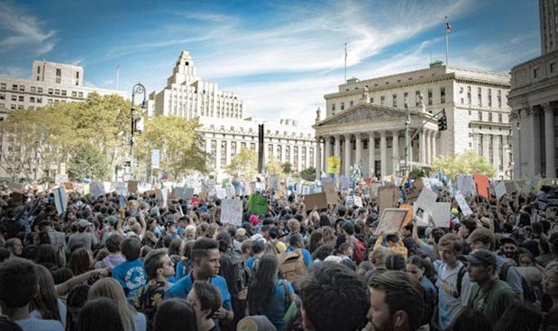 Des millions de personnes se mobilisent pour le climat