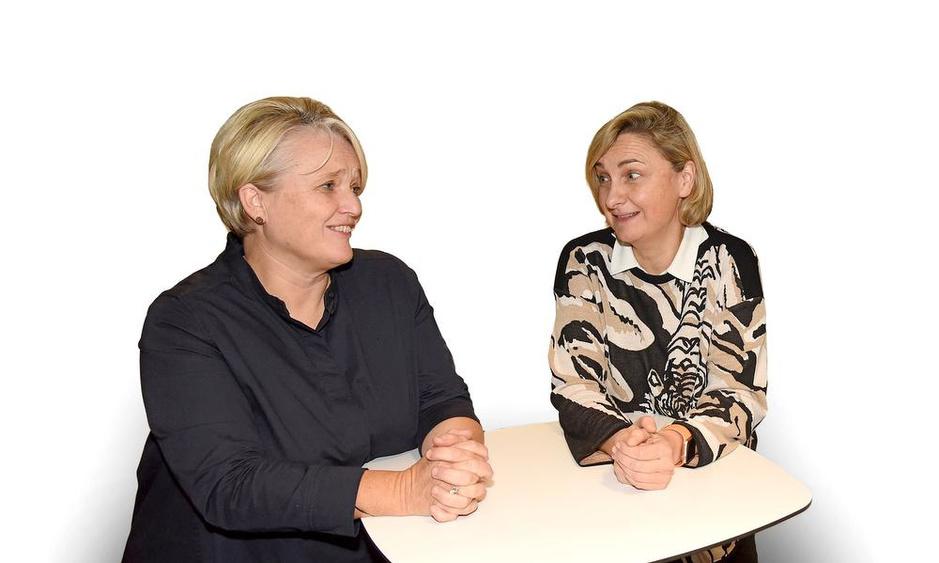 Eerste dubbelinterview met onze ministers van Werk: Hilde Crevits en Nathalie Muylle