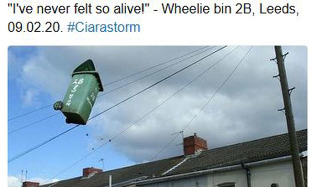 Sur Twitter, de l'humour très british face à la tempête Ciara