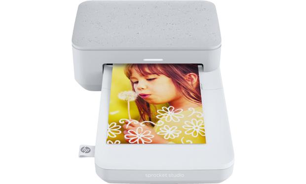 Draagbaar en draadloos fotoprintertje