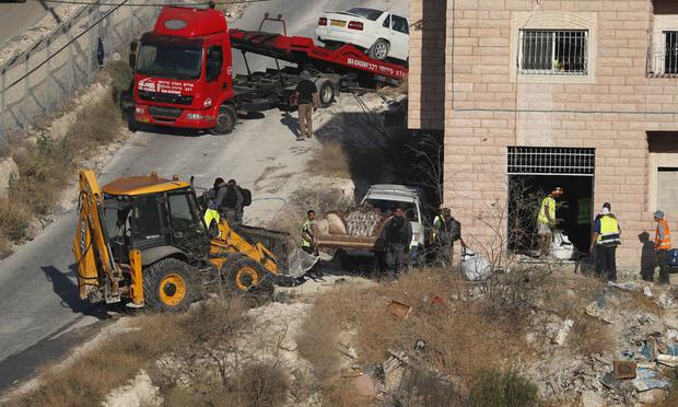 Les forces israéliennes entament la démolition de maisons palestiniennes près de Jérusalem