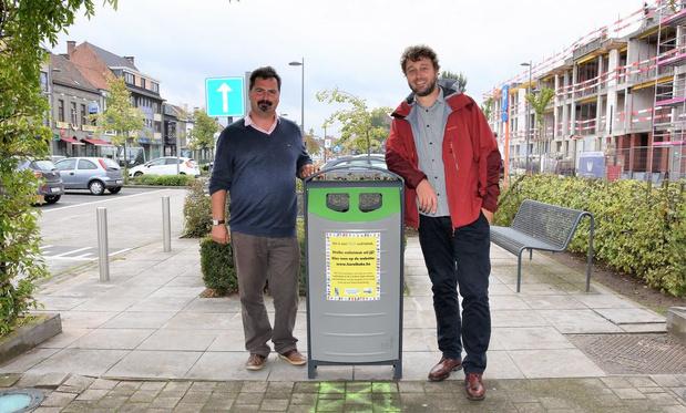 Help mee de nieuwe straatvuilnisbak kiezen
